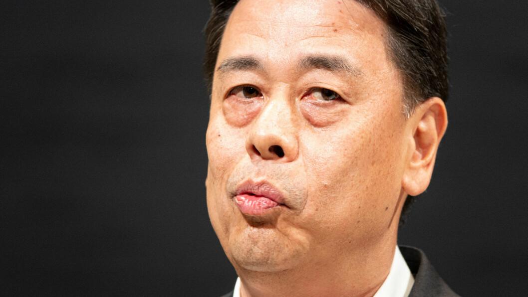 HAR VARSLET KUTT: Toppsjef i Nissan, Makoto Uchida, vil fortelle mer om Nissans fremtid når årsrapporten skal legges frem i slutten av måneden.