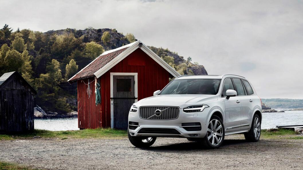 ERSTATTES SENERE ENN PLANLAGT: Dagens Volvo XC90 får sitt liv forlenget med cirka et år.