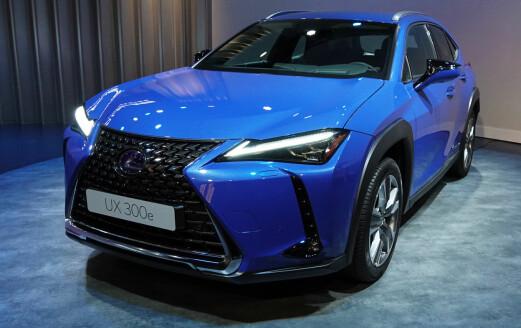 Nå blir elbilen fra Lexus billigere