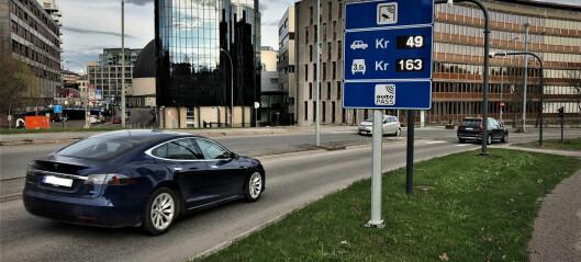 Strenge koronaregler førte til færre bompasseringer i Oslo