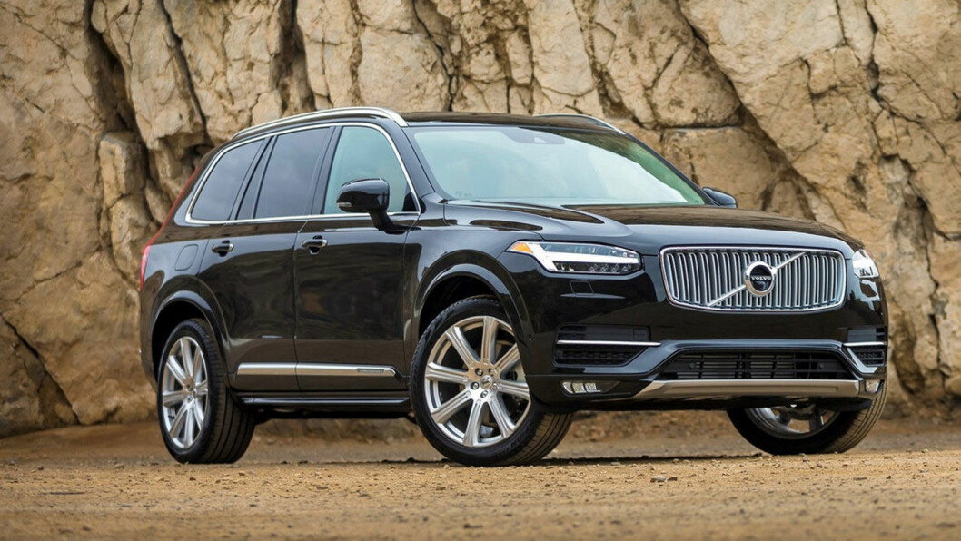 VIL STIGE I GRADENE: Volvo vil konkurrere med de tyske premium-produsentene og forsterke seg i det amerikanske markedet. Derfor planlegges den kommende XC100. Bildet viser Volvo XC90 Excellence, som er det nærmeste de har kommet så langt. Foto: Volvo Car