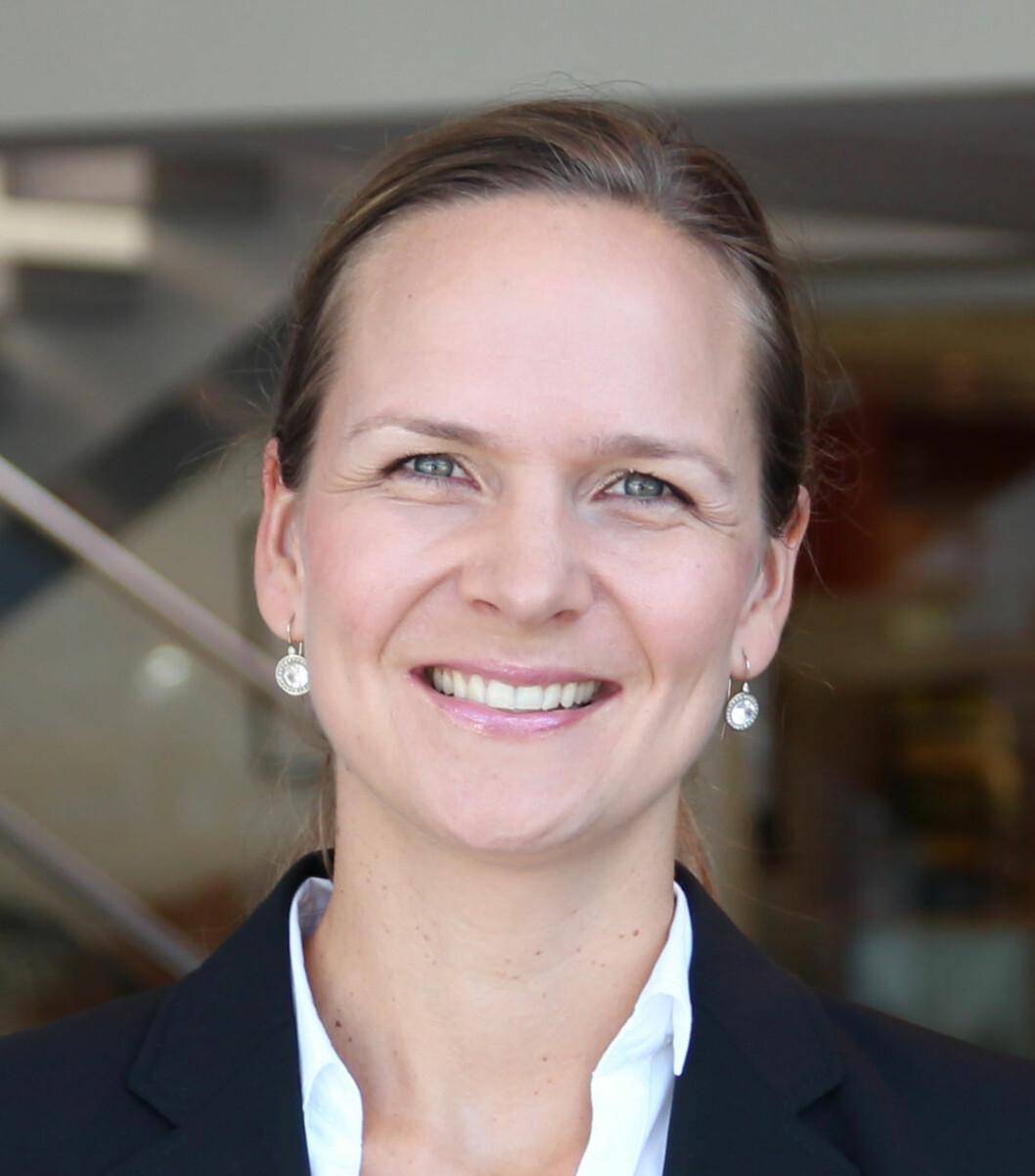 TAUS INNTIL VIDERE: Elin Sinervo, direktør for Audi Norge.