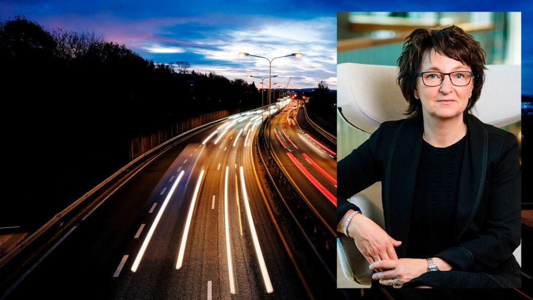 TROR PÅ BIO: Inger-Lise M. Nøstvik, generalsekretær i Drivkraft Norge, mener bruk av biodrivstoff i forbrenningsmotorer bidrar mer til å redusere klimagassutslipp enn elbilpolitikken gjør. Foto: Jon Terje Hellgren Hansen og Drivkraft Norge