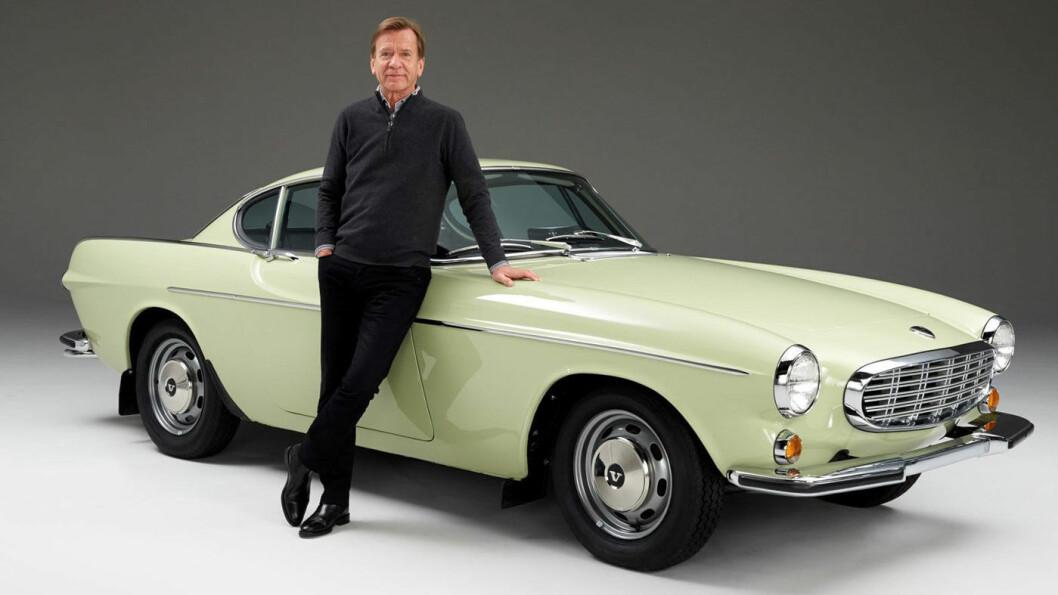 BIL-ENTUSIAST: Håkan Samuelsson snakker frem elbilene, men har smykker i garasjen.