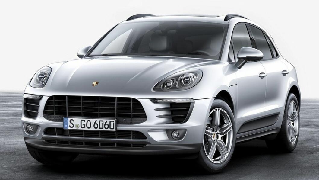 SNART ELEKTRISK: Porsche Macan.