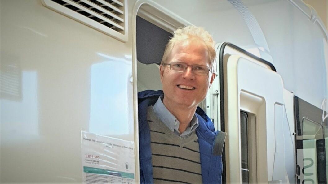 REAGERER: Tor André Johnsen vil at bobileiere skal få frakte det antall passasjerer som bobilen har seter til, og ikke bare det antallet det er sengeplasser til. Foto: Fremskrittspartiet
