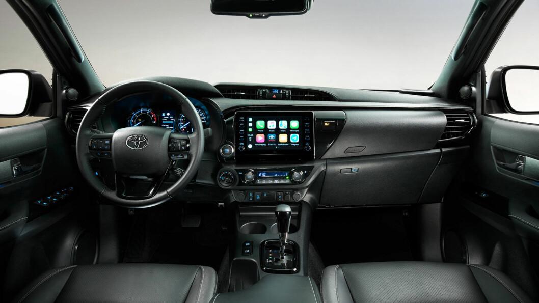 MER TIDSRIKTIG: Interiøret er oppgradert, blant annet med mer moderne multimedia-system.