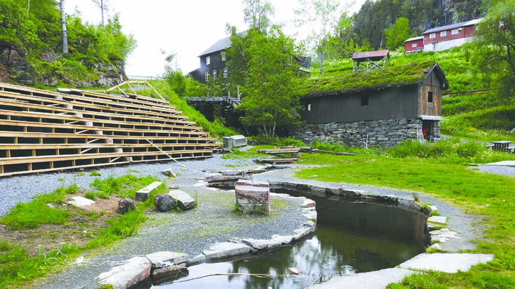 SAG, SMIE OG HØVLERI: Det interessante Ulvedal sag- og bygdemuseum er også et godt utgangspunkt for turer. Foto: Per Roger Lauritzen