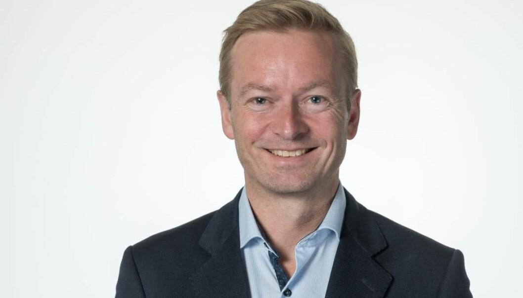 HJEMMESEIER: Helge Orten, som sitter på Møre og Romsdal-benken for Høyre, er leder i Stortingets transportkomité.