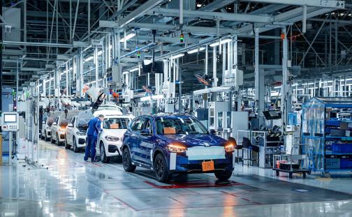 BMW iX3 klar til levering i løpet av året