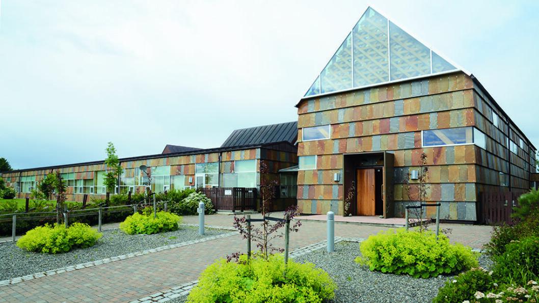 KÅRET TIL ÅRETS BYGG: Det nybygde Tautra Maria-kloster ble tatt i bruk i 2006 og er tegnet av Jensen & Skodvin Arkitektkontor. Foto: Per Roger Lauritzen