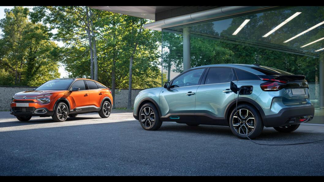 NYKOMMER: En splitter ny helelektrisk Citroën lanseres i slutten av måneden. Den får den merketypiske fronten og store hjul. Foto: Citroën