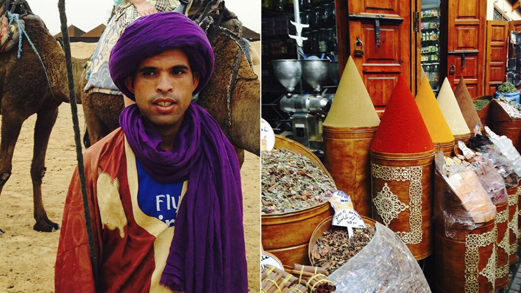 SANSELIG: Marokko er farger, lukter og kontraster. Foto: Escape