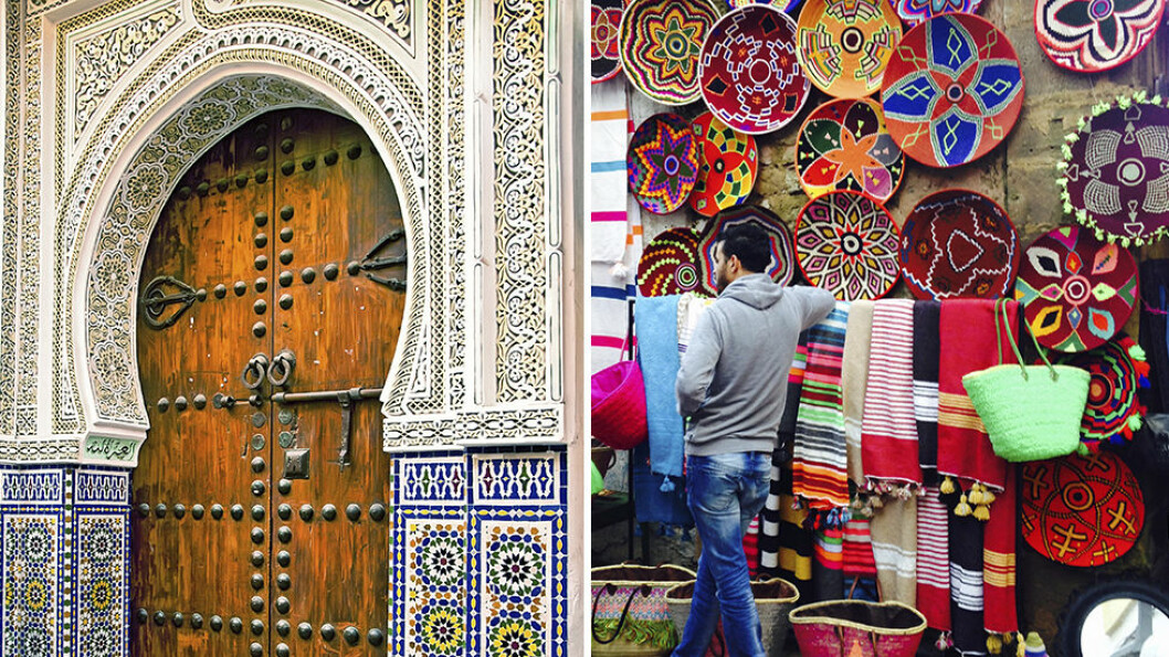 ESTETISK OG VAKKERT: Marrakech er en spennende by for deg som er interessert i kunst, arkitektur, historie, mote, håndverk og mat. Foto: Fotolia