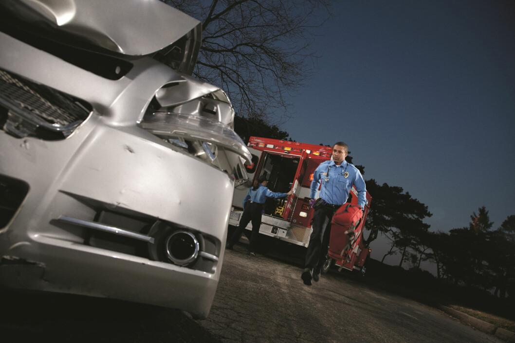 HJELP I NØDEN: Opel Onstar kan hjelpe deg med det meste, inkludert automatisk tilkalling av nødhjelp. Onstar blir nå standard på de fleste av Opels biler i Norge. Foto: Produsenten