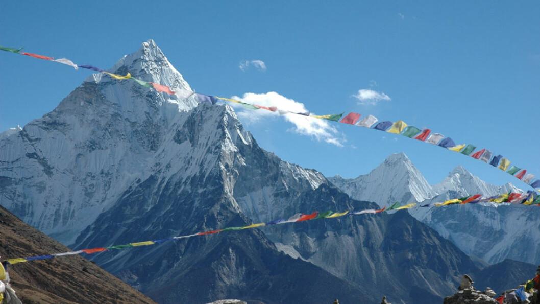 HIMALAYA: Å vandre i fjellene i Himalaya med utsikt mot Mount Everest og flere av verdens høyeste fjell, er en helt utrolig opplevelse. Foto: Explore Travel
