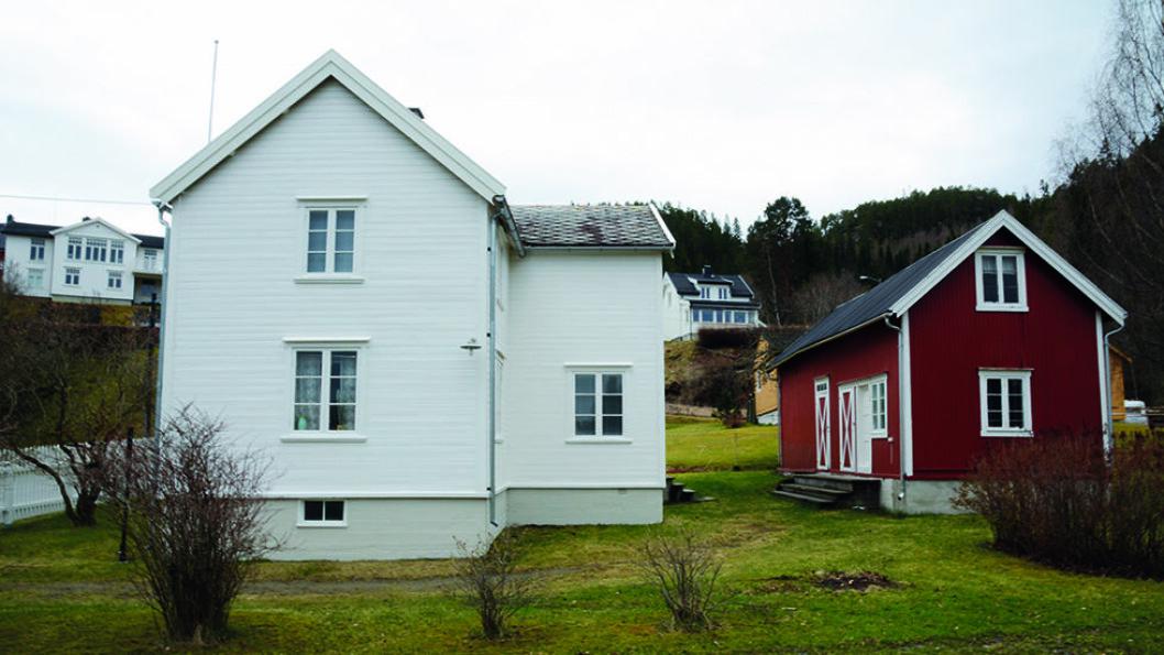 FRA HUSMANNSPLASS TIL STATSMINISTERBOLIG: Johan Nygaardsvold Muséum i Hommelvik sentrum. Foto: Malvik kommune