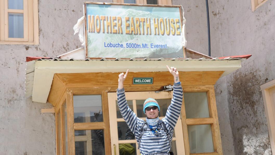 GJESTEHUS: Vi bor på enkle gjestehus i noen av verdens høyestliggende områder. Foto: Explore Travel