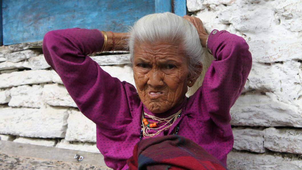 FJELLFOLK: Det bor over 27 millioner mennesker i Nepal. De fleste er av tibetansk-mongolsk eller nord-indisk herkomst. Foto: Explore Travel