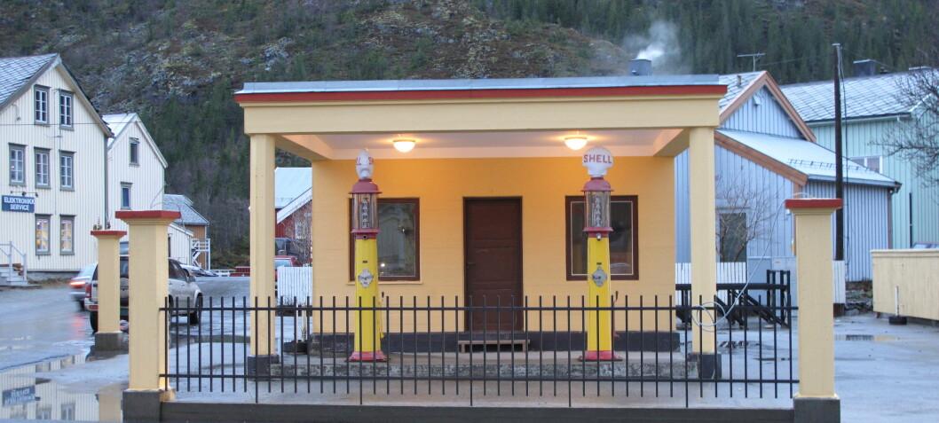 Freder gamle bensinstasjoner