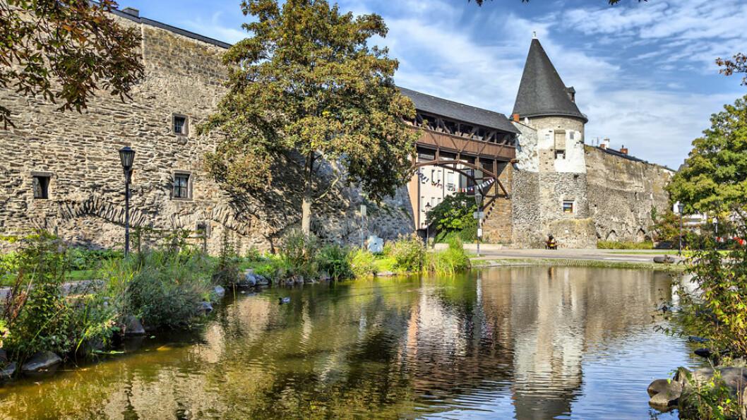 ANDERNACH: Deler av den gamle bymuren står fortsatt i middelalderbyen Andernach. Foto: Shutterstock