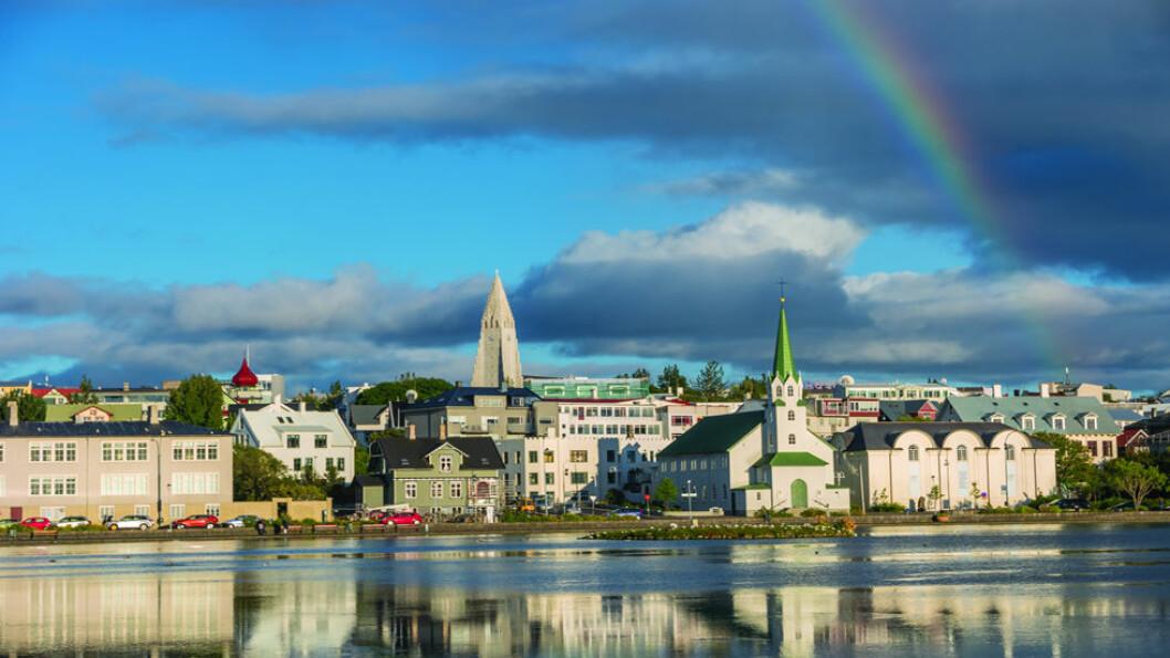 ISLANDS HOVEDSTAD: Sagaøya har 306 000 innbyggere, og 60 prosent av dem bor i eller nær Reykjavik som har utviklet seg til å bli en moderne og livlig by. Foto: Shutterstock