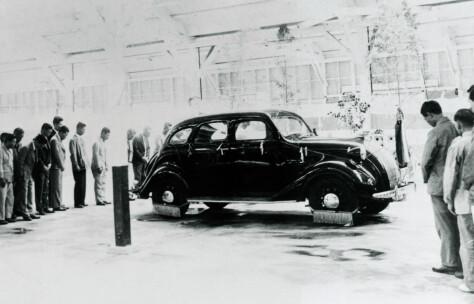 For 80 år siden rullet Toyotas første bil ut på veien