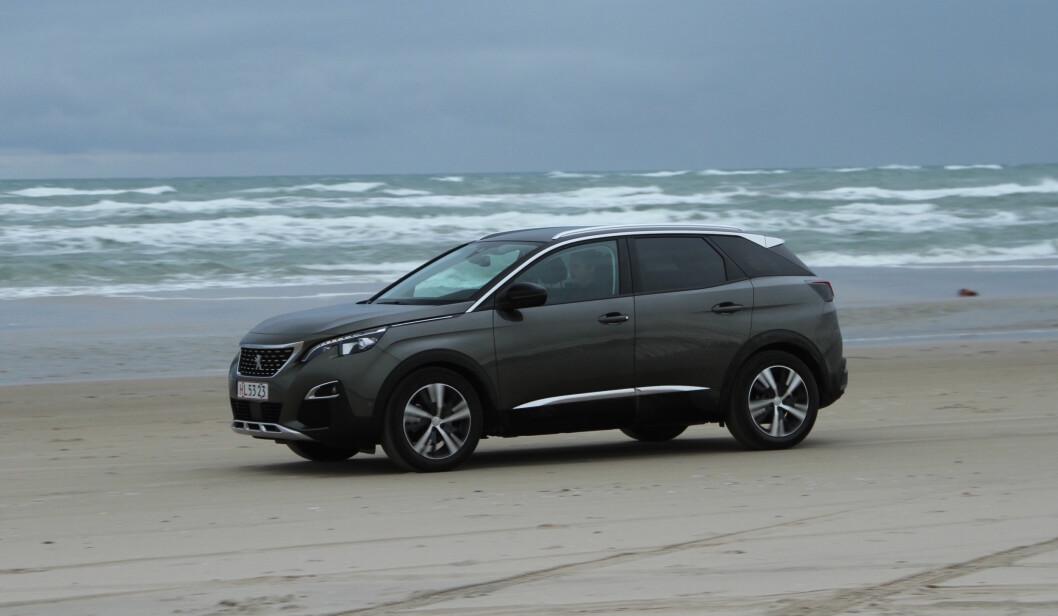 BARSKERE: – Nye Peugeot 3008 er blitt betydelig barskere og har alle egenskapene en populær SUV skal ha. Foto: Rune Korsvoll