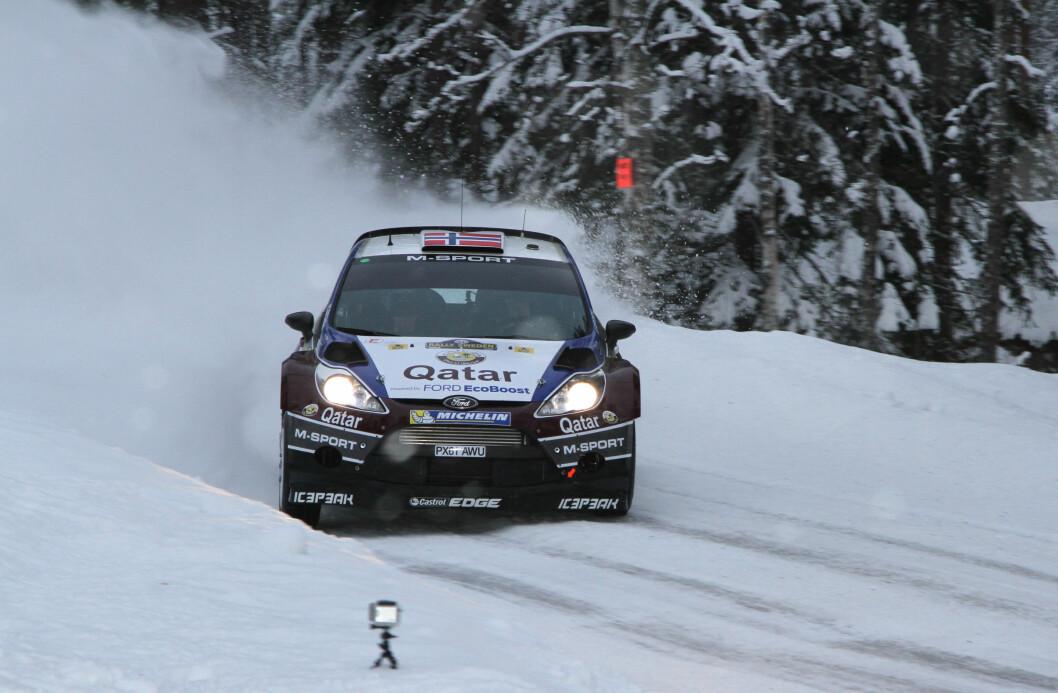 MADS ØSTBERG: Mads Østberg er stjerne i rally-VM og har kjørt for NAF i mange år. Foto: Rune Korsvoll