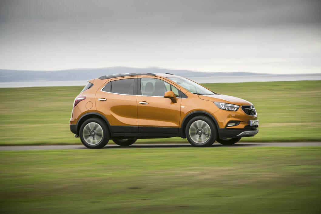 X-FAKTOR: Om en X i navnet vil utgjøre den store forskjellen i salget for Opel Mokka gjenstår å se. Foto: Rune Korsvoll