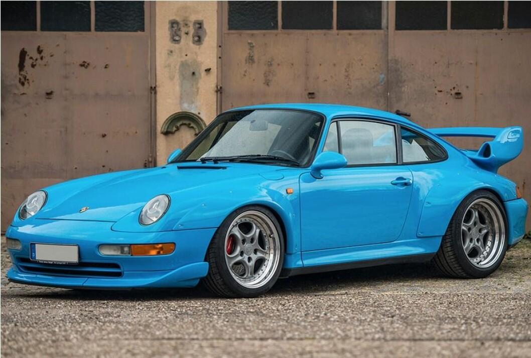 20 MILLIONER: Denne Porsche 911 fra 1995 ble nylig solgt for 20 millioner kroner på en aukjson i Lonndon. Foto: RM Sothebys
