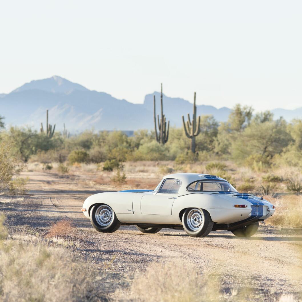 REKORD: Med en prius på over 62 millioner kroner er dette den dyreste Jaguaren nyere enn 1960 modell. Foto: Bonhams