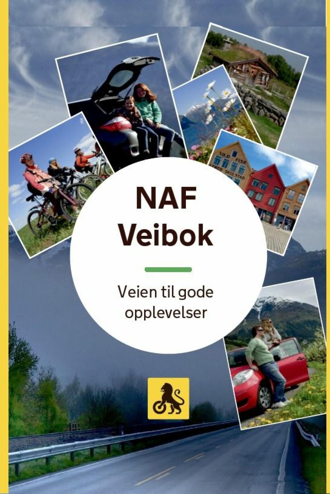 NY UTGAVE: NAF Veibok kommer i ny utgave ved årsskiftet.