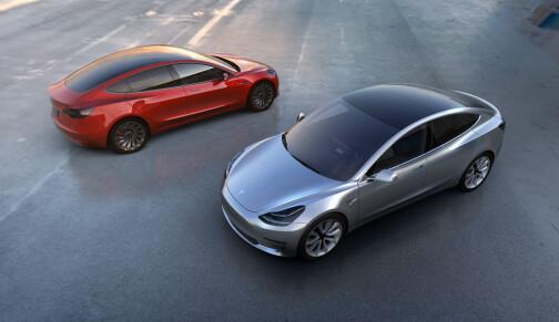 «Starter Tesla Model 3-produksjon i februar»