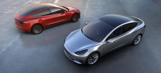 Tesla har fått opp farten