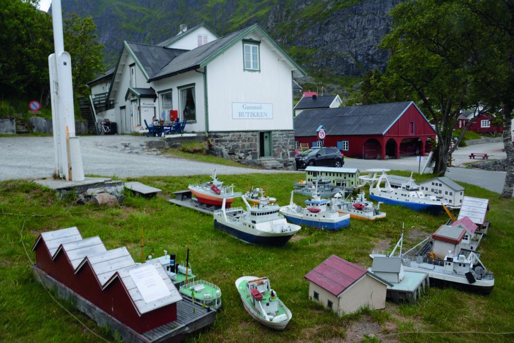 SEVERDIGHET: Norsk Fiskeværmuseum i Å har mye å vise fram både ute og inne.