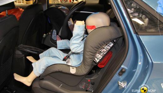 Dette er de sikreste bruktbilene for barn