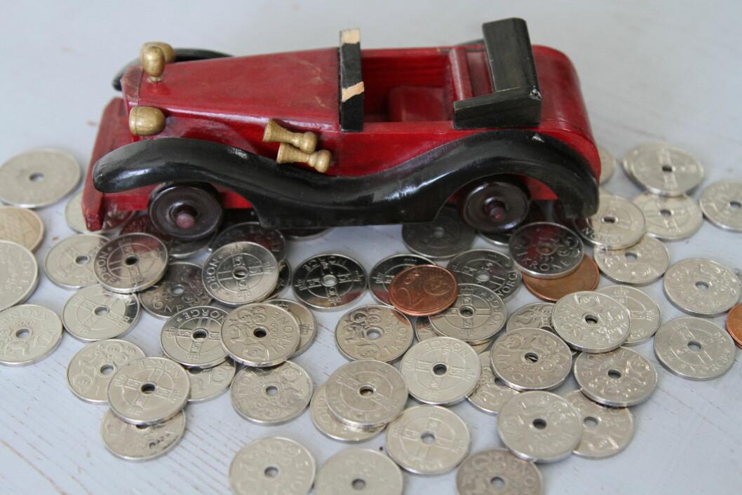 Verditapet er den største kostnaden i bilregnskapet ditt Foto: Rune Korsvoll