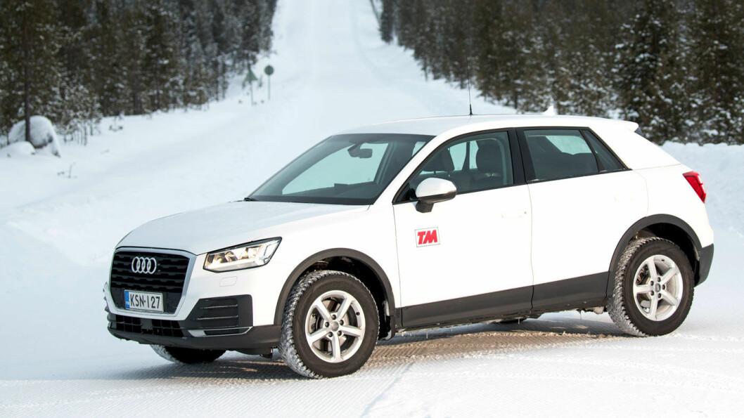 TESTVINNER: Ingen scoret høyere i vår vintertest enn Audi Q2