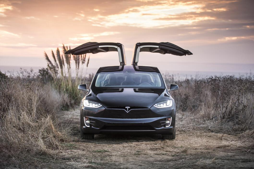 STIGENDE KURVE: Det globale salget av Model S og X (bildet) i 4. kvartal 2016 var 49 prosent høyere enn samme kvartal året før. Foto: Alexis Georgeson/Tesla