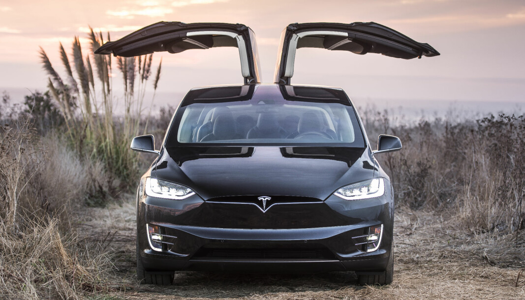 MÅ FIKSES: Teslas stor-SUV Model X.