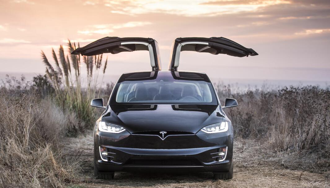 OVER 300.000 SPART: På en helt ordinær utgave av Tesla Model X er besparelsen på 308.782 kroner