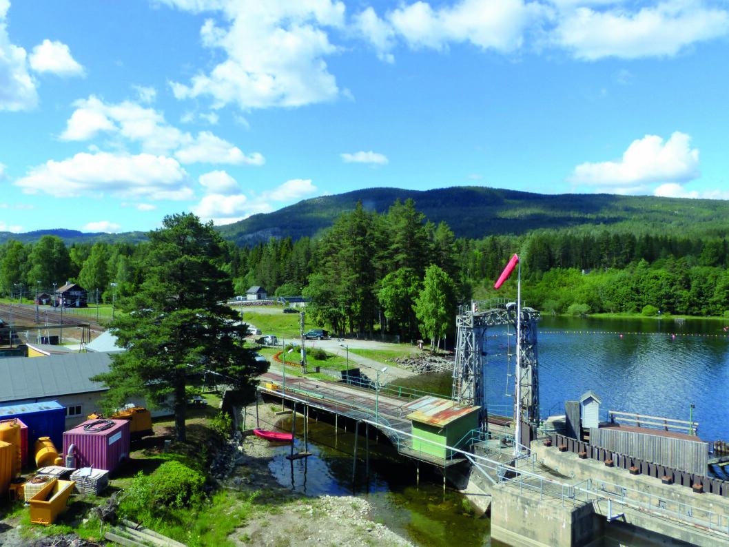LEVENDE MUSEUM: Fra Tinnoset kai går ferger til Rjukan