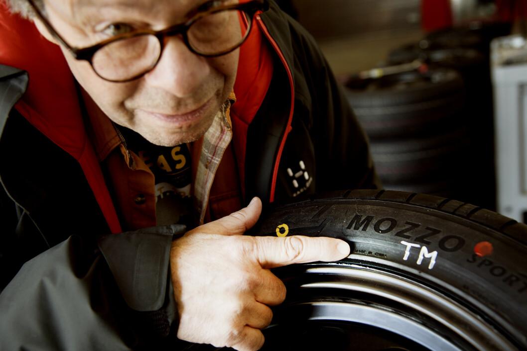 STILLE? Goodyear scorer såvidt bedre enn Michelin på toppen av støymålingslisten i Motors vinterdekktest. Foto: Lasse Allard