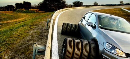 Kinesisk bremsevinner på tørt føre