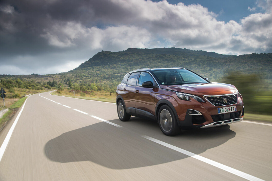 ÅRETS BIL: 2017-vinneren Peugeot 3008.
