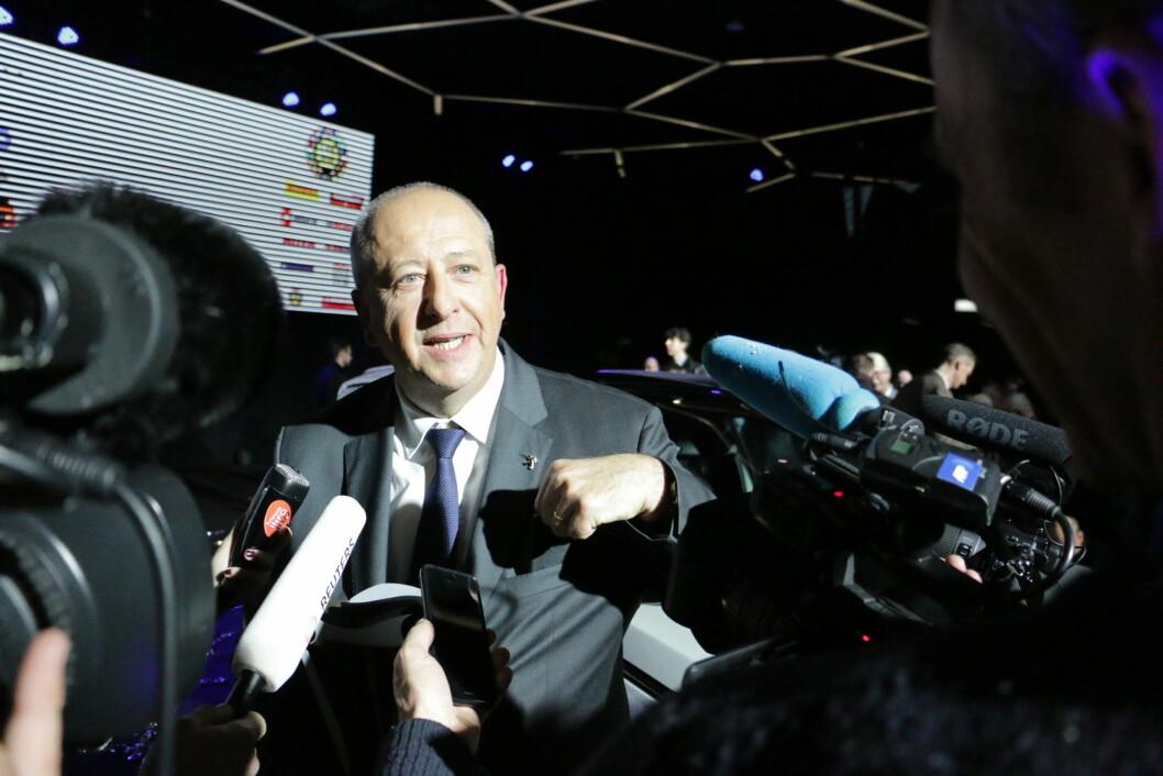 DAGENS MANN: Peugeot-sjef Jean-Philippe Imparato hadde en fin dag i går, med kjøp av Opel og seier i kåringen «Car of the Year»