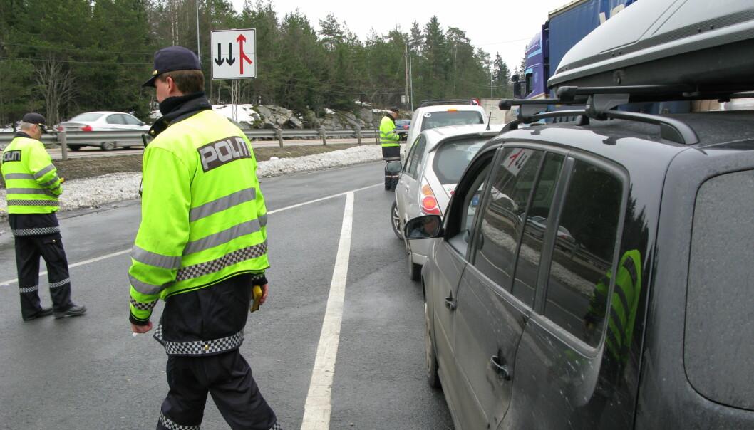 """<span class=""""font-weight-bold"""" data-lab-font_weight_desktop=""""font-weight-bold"""">PRIKK-PRIKK: </span>Politiet kan gi prikker ved trafikkforseelser. Statens vegvesen har derimot ikke lov til å prikkbelaste deg."""