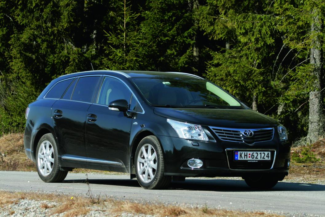 LITE FEIL: Mange kjøper Toyota Avensis på grunn av den gode driftssikkerheten. De blir sjelden skuffet.
