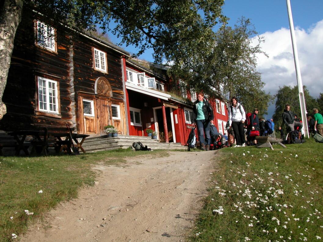 FREDET: Gjevilvasshytta er et smykke. Foto Wikipedia